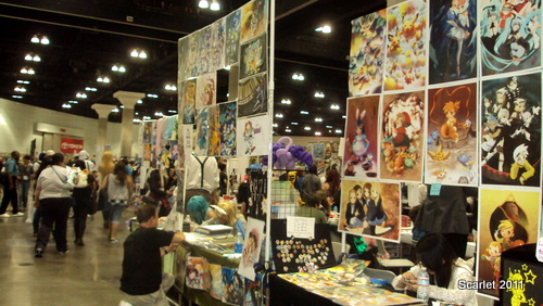 The Artist Alley Was Really Huge This Year Artists From All Over Country Came Off To Show Their Artwork There Were A Variety Of