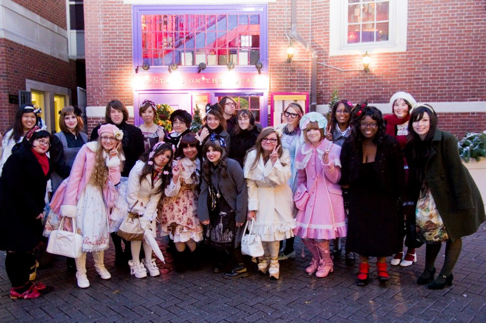 Found Photo: International Lolita Day @ Harvard Square