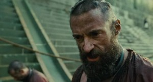 Jackman's Valjean: Not the boy next door.