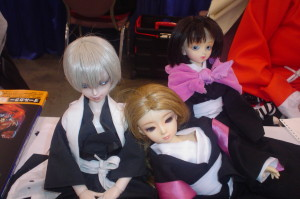 My resin dolls cosplaying from Bleach.